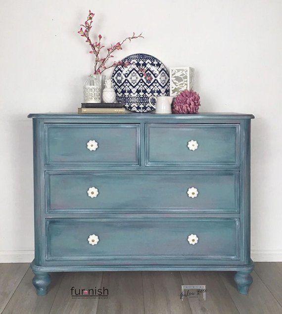 bedroom Storage Dresser - Chest of Drawers or Sideboard ...