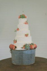Cake Floral by Wild Bunches Floral in Dripping Springs, TX Photo by: Day 7 Photography