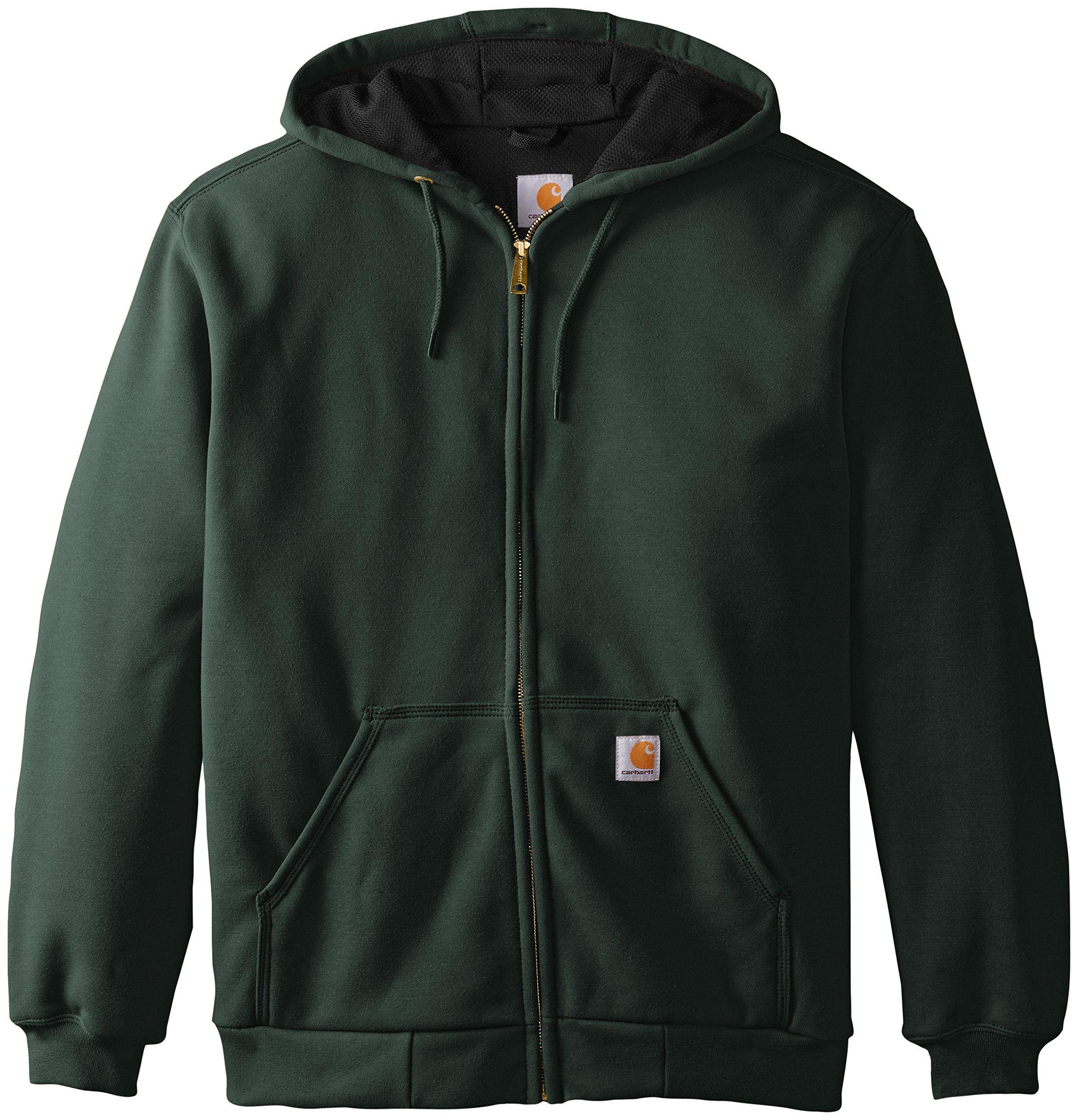 Carhartt Mens Rain Defender Rutland Thermal Lined Hooded Zip Front Sweatshirt Canopy Green Large See This Hoodies Men Style Black Sweatshirts Carhartt Mens [ 2560 x 2464 Pixel ]