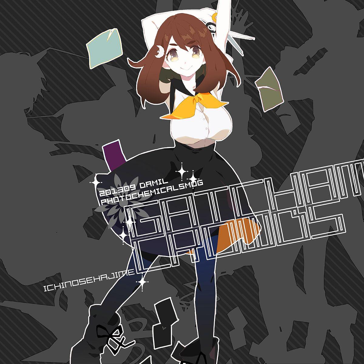 Gatchaman Crowds, Ichinose Hajime (In my top 5 female