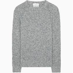 Photo of Calvin Klein Mouliné Pullover aus Wolle-Kaschmir-Gemisch L Calvin KleinCalvin Klein