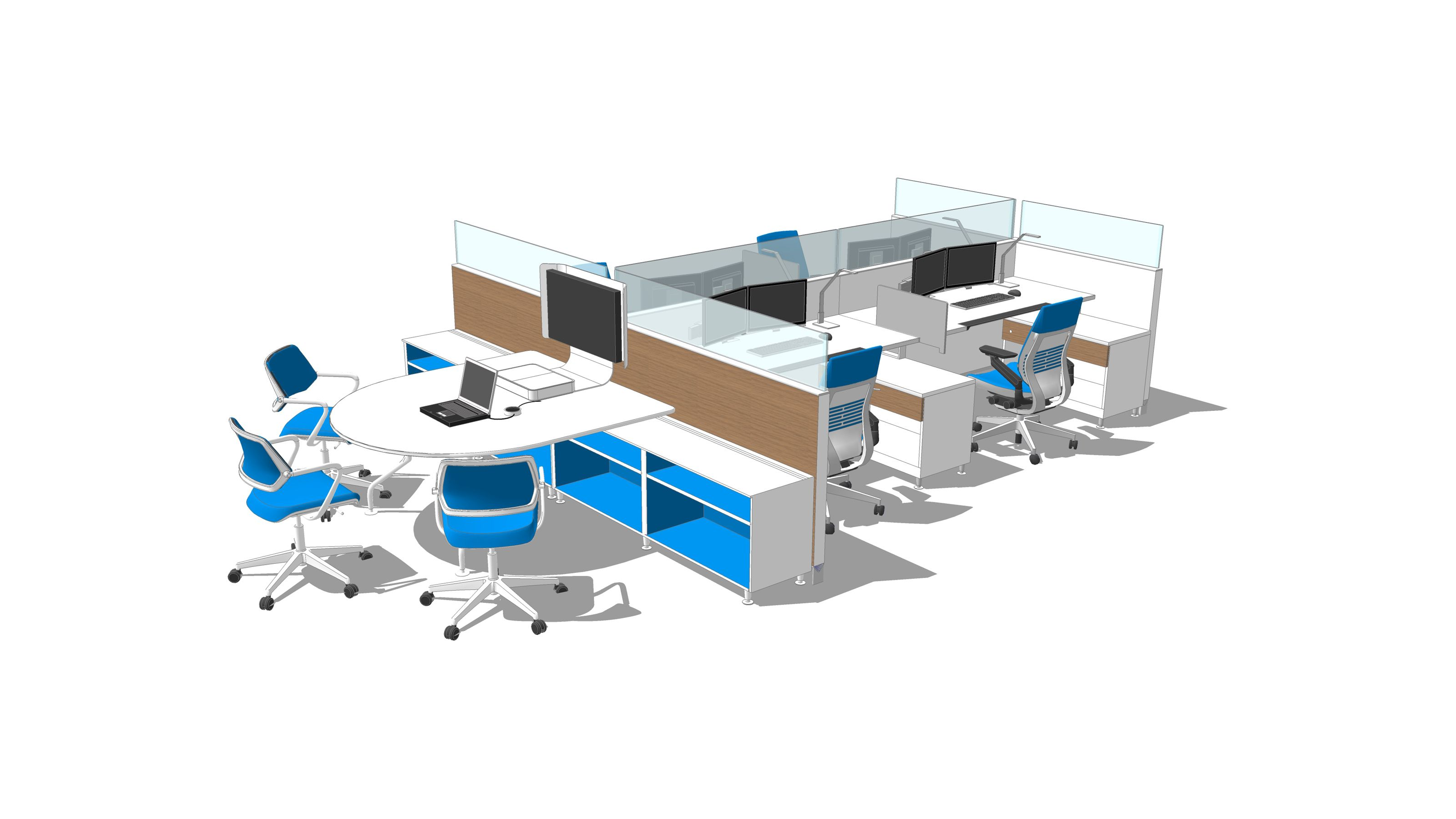 PW9AW2GA Steelcase, Workplace design office, Workplace
