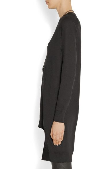 Givenchy - Cashmere, Wool And Silk-blend Sweater - Black