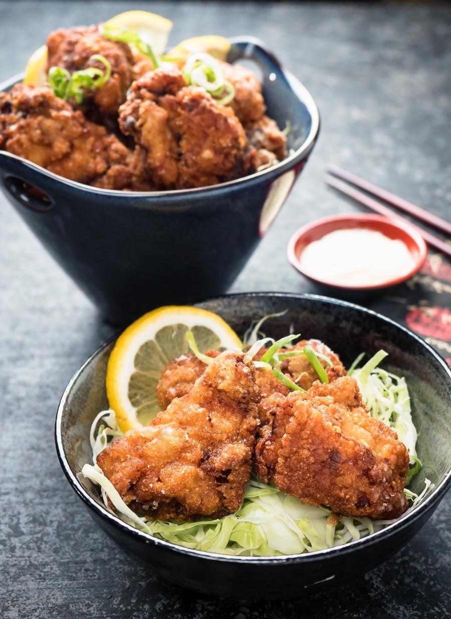 Chicken Karaage Japanese Fried Chicken Recipe Japanese Fried Chicken Fried Chicken Recipes