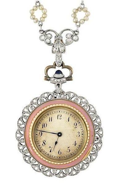c53567b4932 Incredible diamond encrusted watch Relógio De Bolso