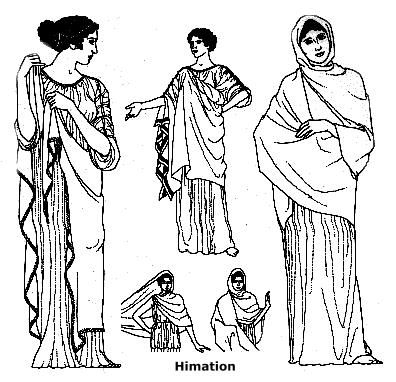 how to make ancient greek clothing