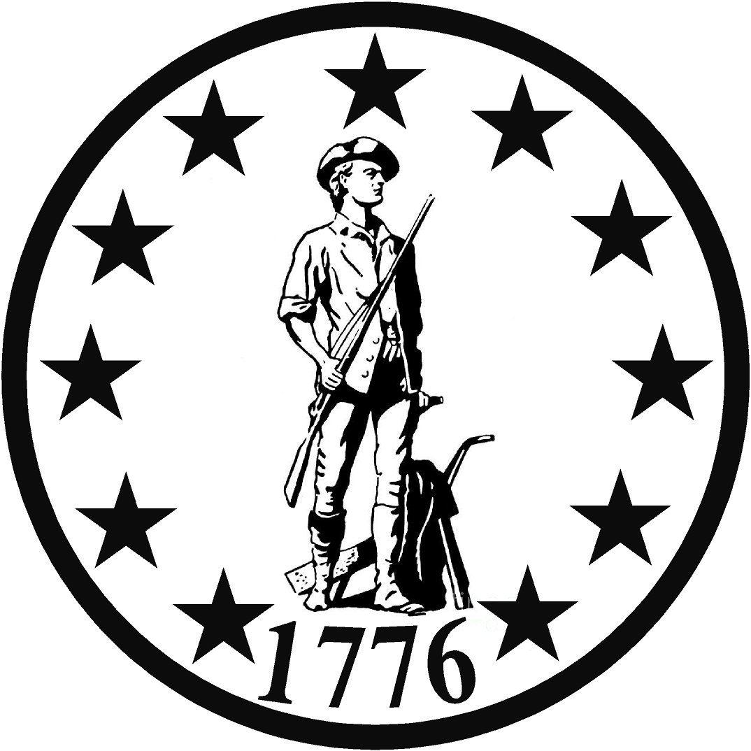 "2nd American Revolution political car sticker 4/"" x 4/"""