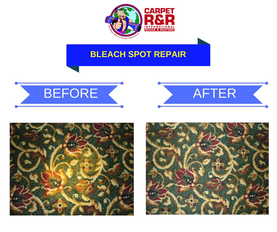 Bleach spill are hard to remove let our professional