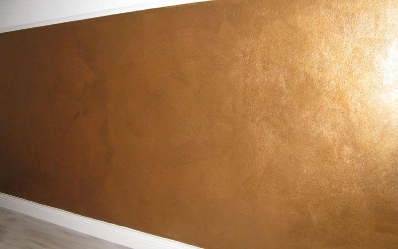 24 Wandfarbe Gold Caparol
