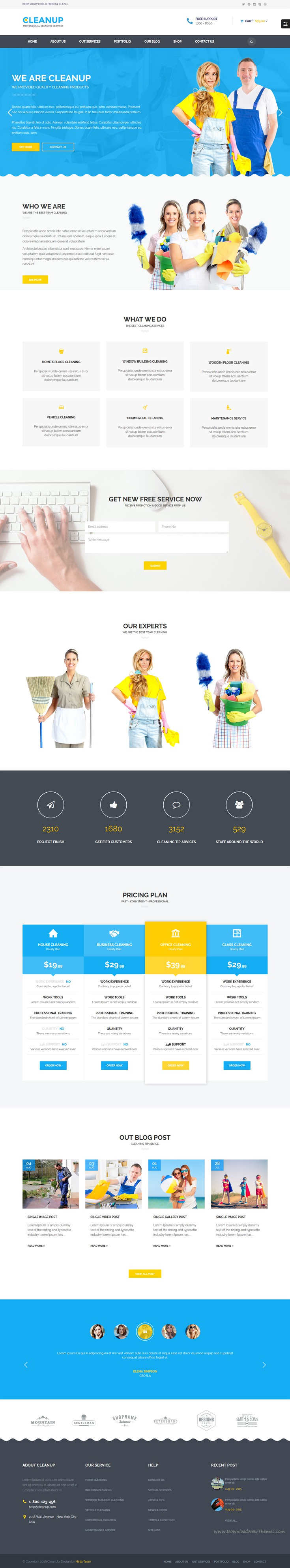 cleanup professional cleaning services html template cleaning cleanup is bootstrap html template designed specifically for cleaning services agency website