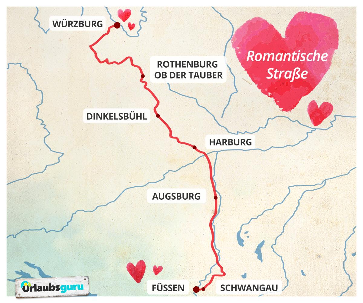 Die Romantische Strasse Entlang Deutschlandliebe By Urlaubsguru Romantik Urlaubsguru Urlaub
