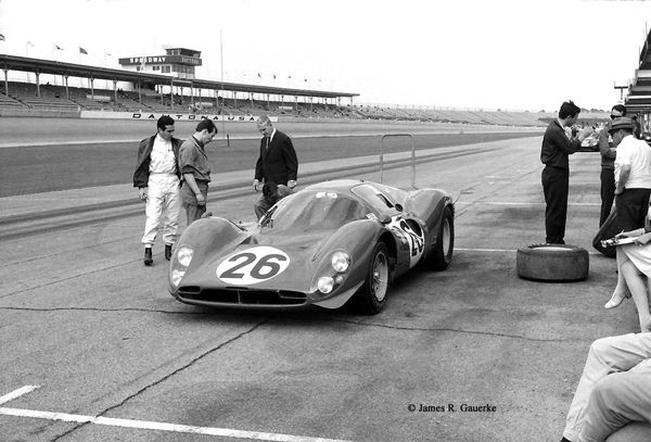 Ferrari 412P at Daytona 1967
