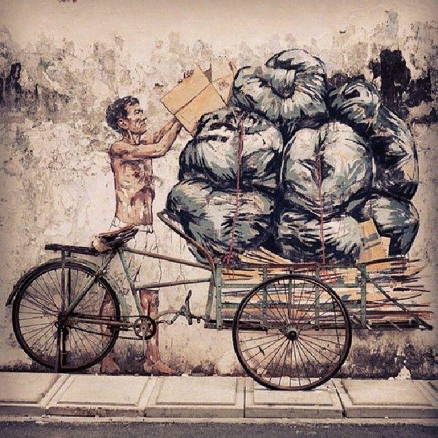 """Streetart is rubbish."""