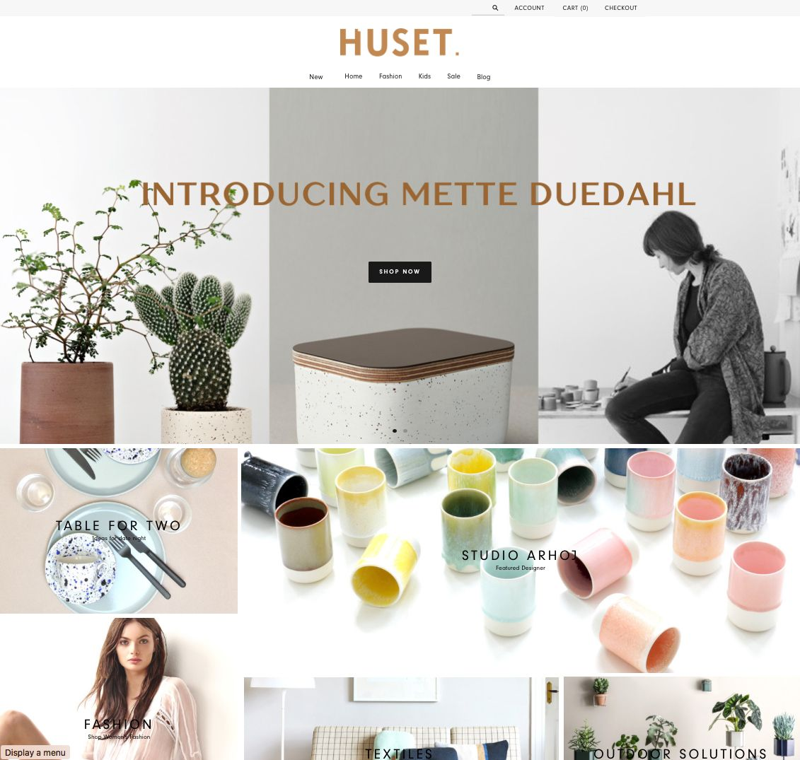 Huset #shopdirectory #bestonlineshops