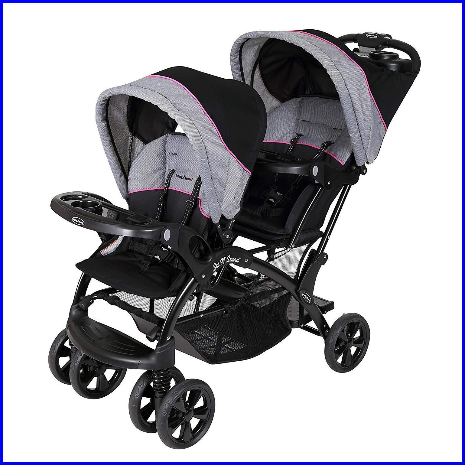 Baby Trend Sit N Stand Ultra Stroller Granite Baby Trend Baby Trend Double Stroller Baby Trend Stroller