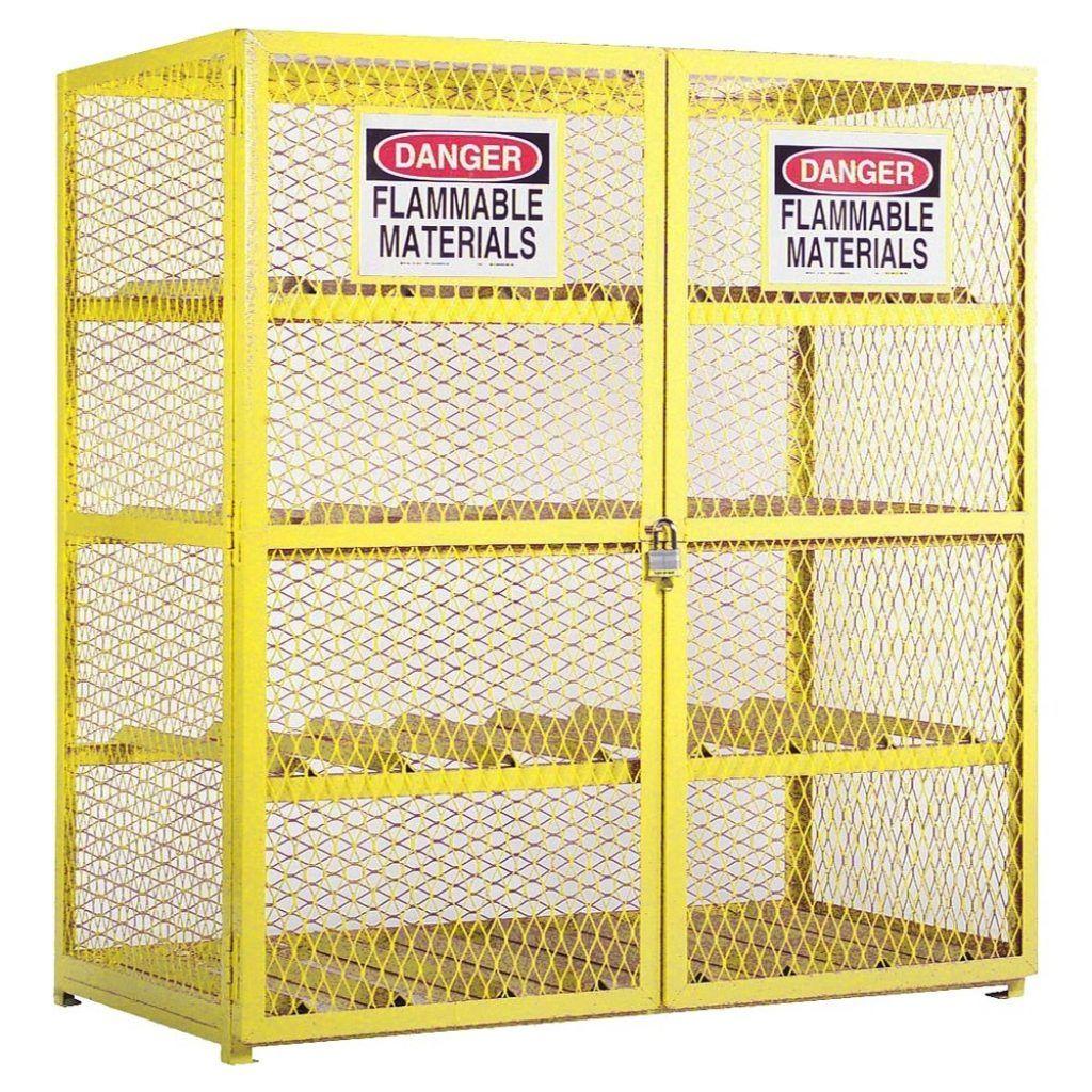 Lpg Cylinder Storage Cabinet Design