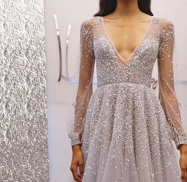 96 Fun Facts About Your Favorite Bridal Designers: Hayley Paige Spring 2017 Lumi Dress