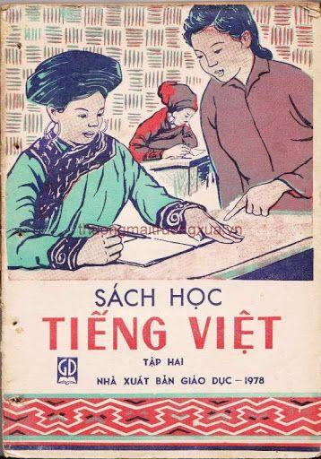 Sách Học Tiếng Việt Tập Hai (NXB Giáo Dục 1978) - Phạm Toàn, Nguyễn Trường, 173 Trang | Sách Việt Nam