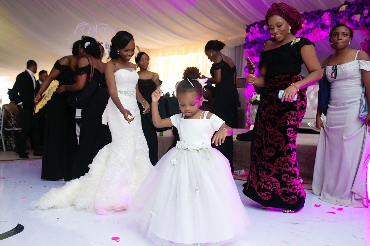 Modern Lagos Wedding at Ruby Gardens, Nigeria | Africa