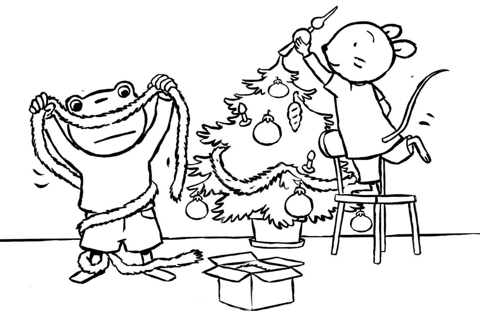 nellie en c 233 zar versieren de kerstboom thema kerstbomen