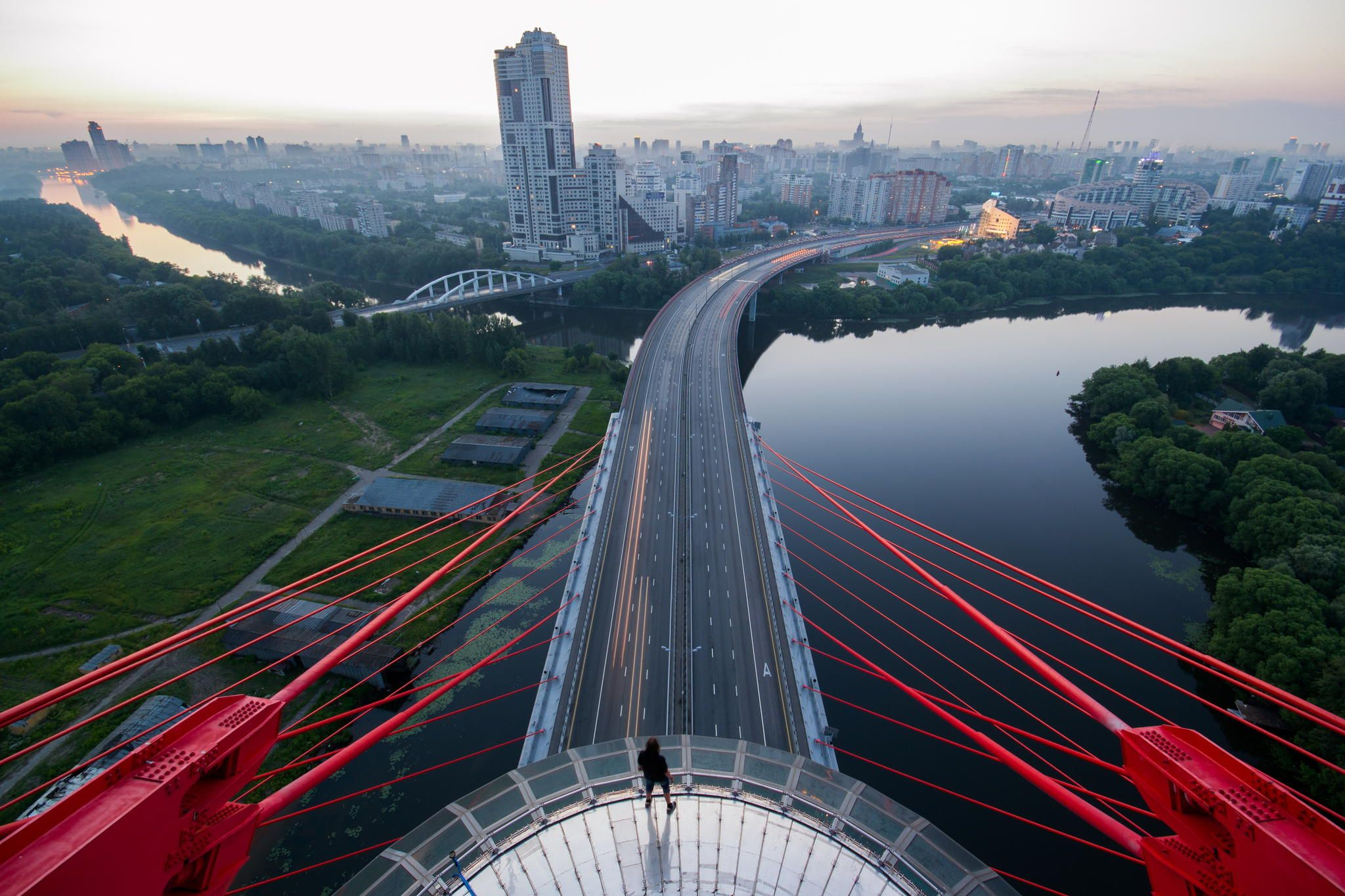 фото моста в москве с рестораном оформить дизайн