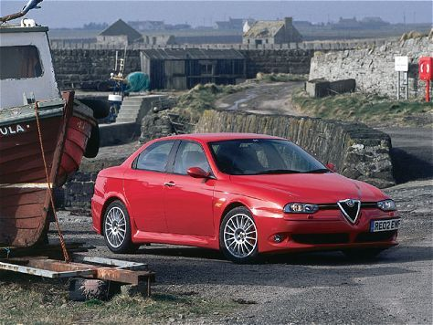Alfa Romeo 156 Gta European Driving Impression European Car