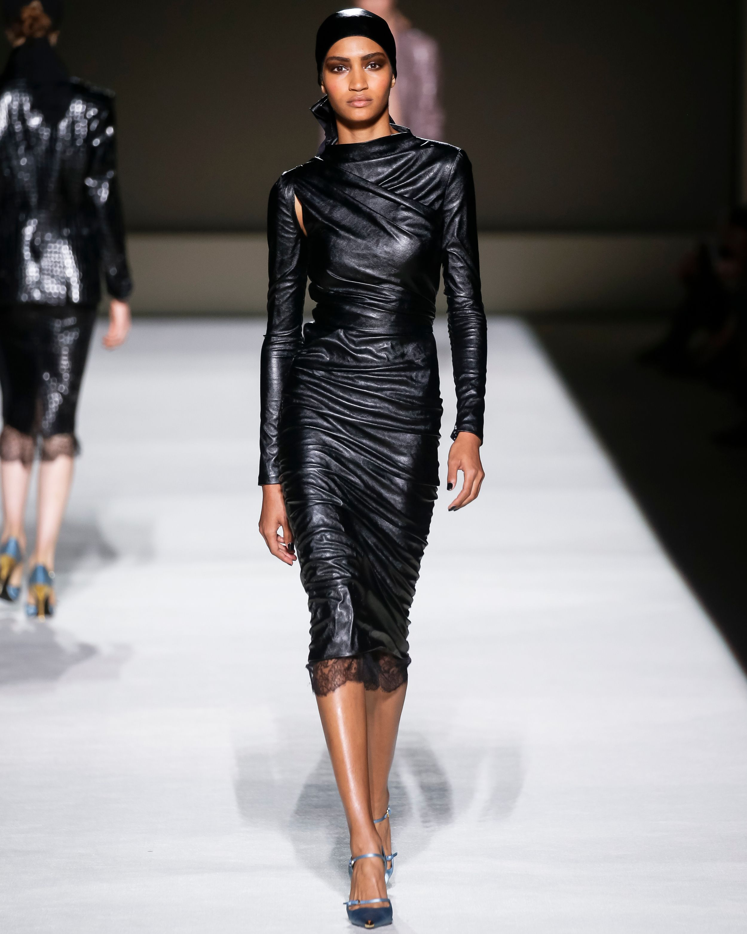 A look from the TOM FORD SS19 Collection.  TOMFORD  TOMFORDSS19  NYFW 2c0e5b21948b