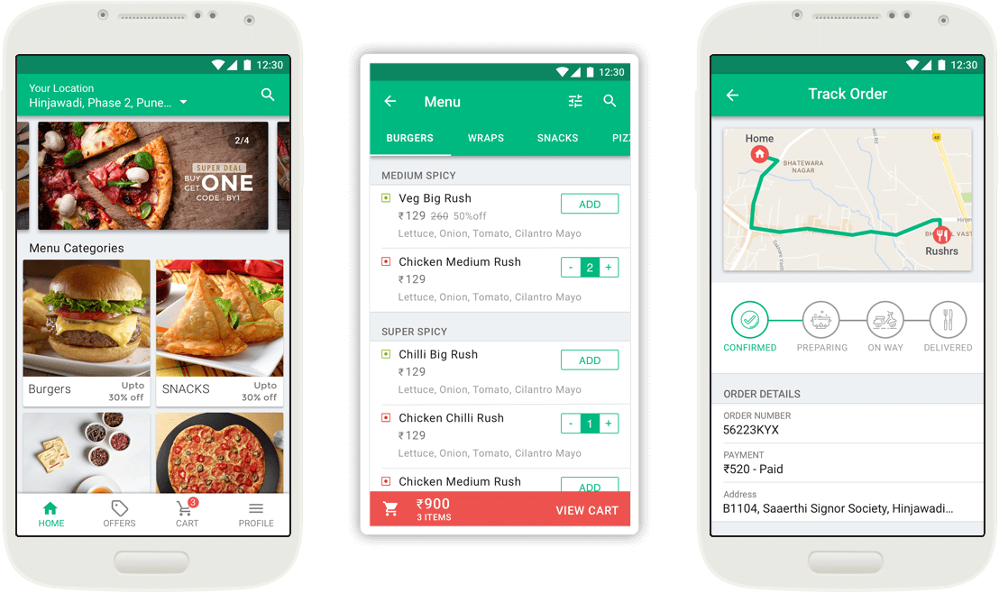 OnDemand Food Delivery App Development Solution Food