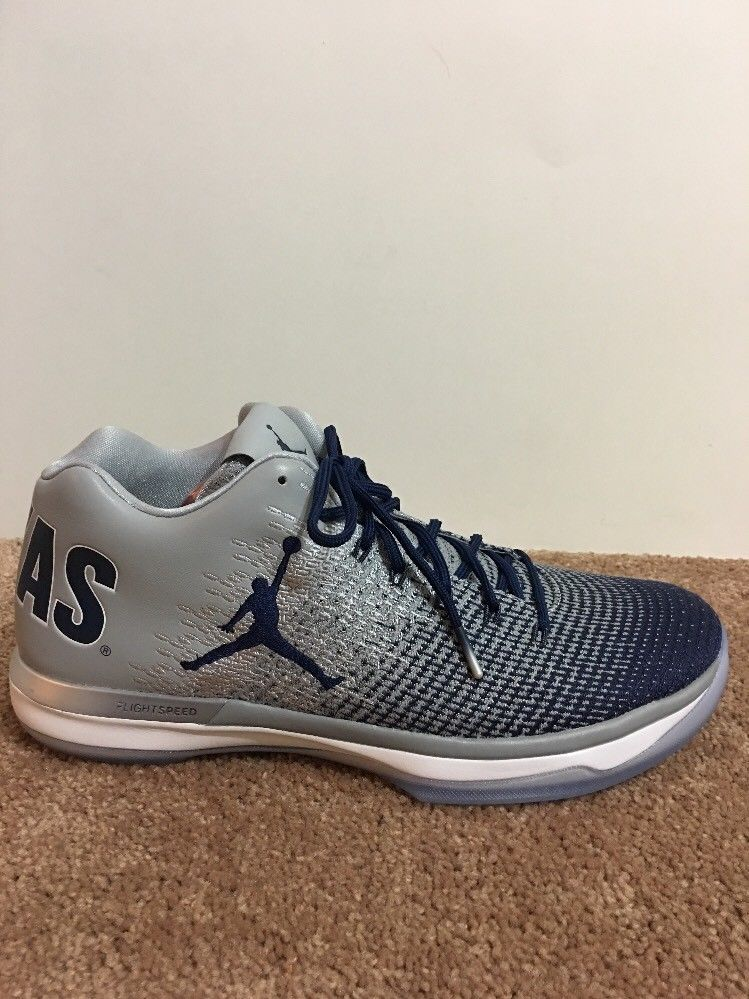 low priced 7654f 03762 NIKE AIR JORDAN XXXI LOW GEORGETOWN HOYAS 897564-007 Sz 13 GRAY NAVY   fashion  clothing  shoes  accessories  mensshoes  athleticshoes (ebay link)