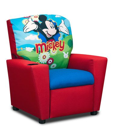 Another great find on #zulily! Mickey Mouse Clubhouse Kid's Recliner #zulilyfinds