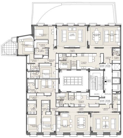 modern apartment design plans. Modern Apartment Design Plans Building 8 Unit  Minimalist