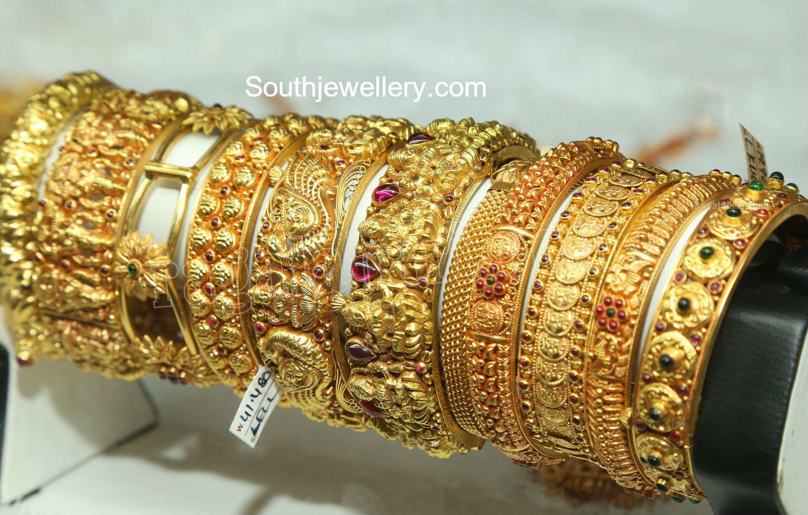 Antique Gold Bangles photo | Bangles | Pinterest | Gold bangles ...