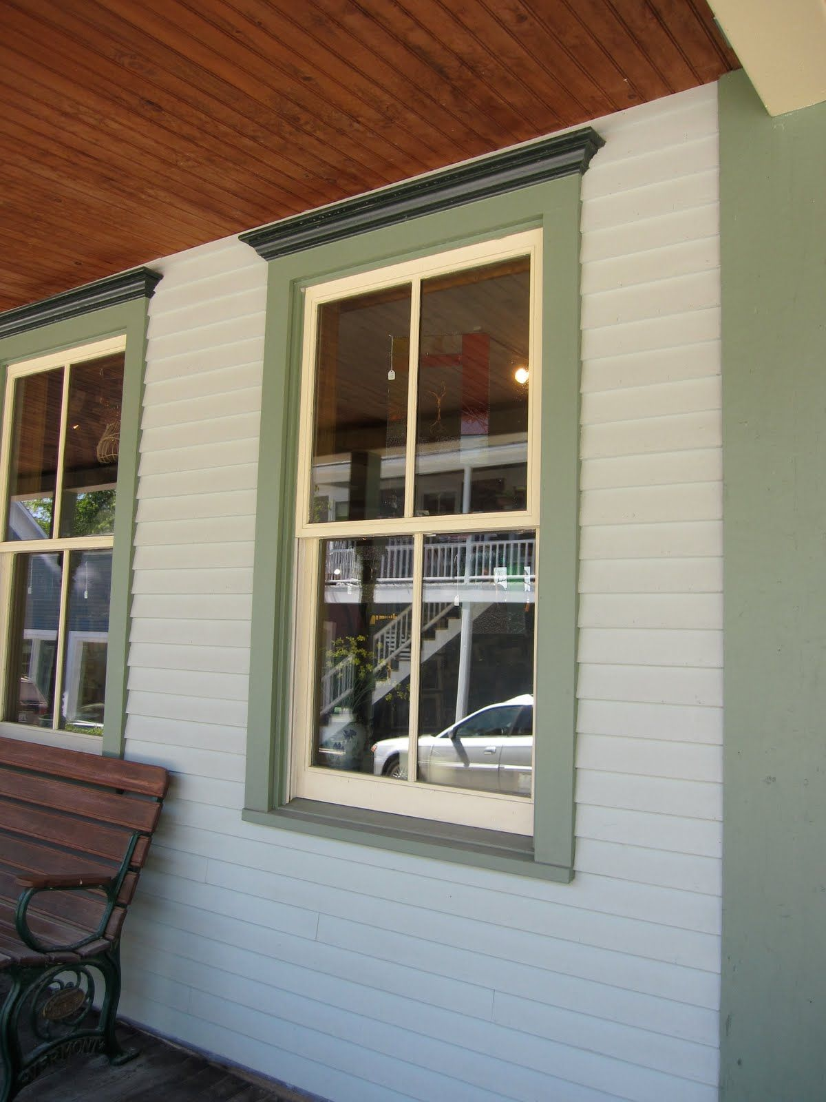 Exterior window trims on pinterest window moldings exterior windows - Window Trim Exterior Here S One I Liked