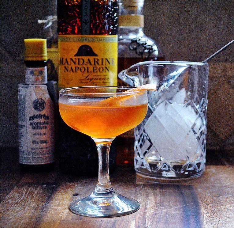 Spiced Almond Cocktail