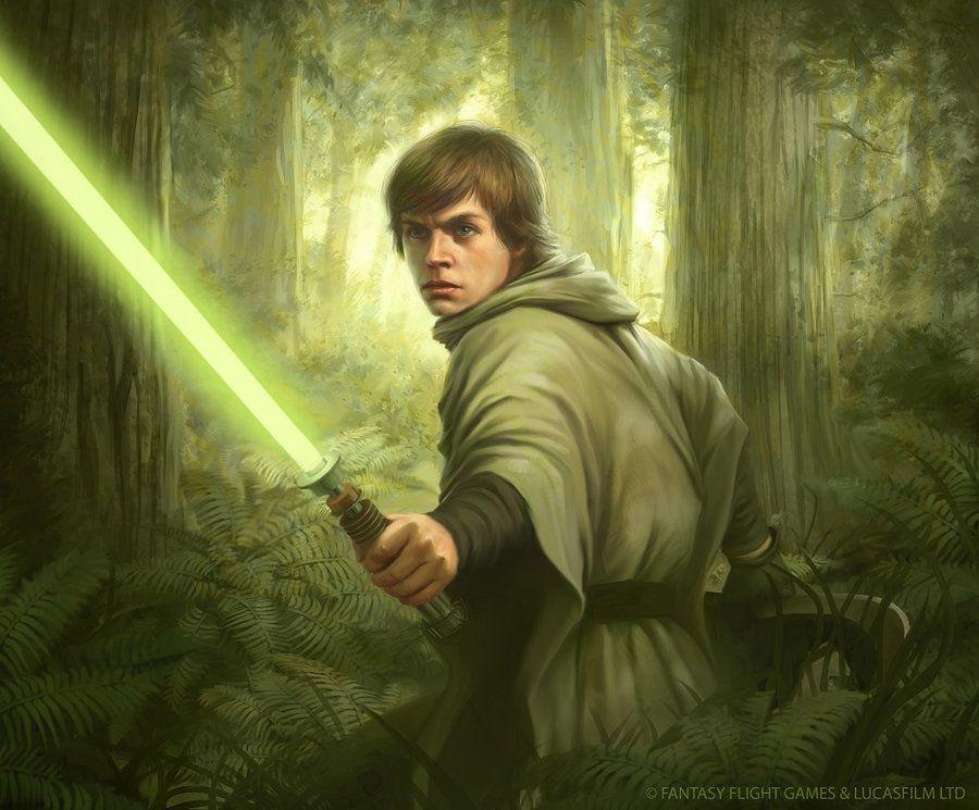 Star Wars: TCG - Endor Luke by AnthonyFoti on @DeviantArt