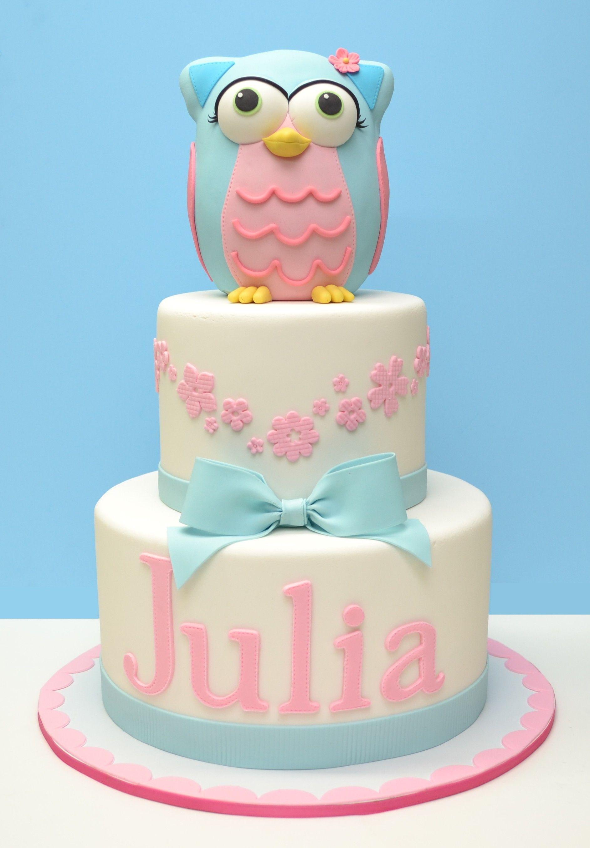 Owl Cake Kids Cakes Pinterest Owl cakes Cake and Balloon cake