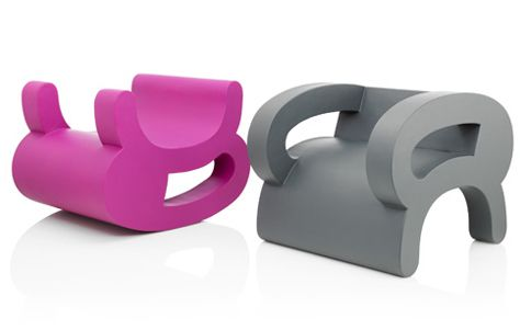 Flip Chair Series By Daisuke Motogi. Just Flip Your Lounge Chair And Voila,  You Have An Rocking Chair.
