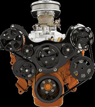 BLK13800 Chrysler, Alternator, Ac compressor