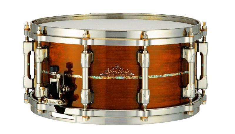 tama starclassic bubinga omnitune sos1455t nbg resonant in 2019 drums snare drum percussion. Black Bedroom Furniture Sets. Home Design Ideas