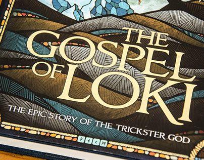 """다음 @Behance 프로젝트 확인: """"The Gospel of Loki // Book Cover"""" https://www.behance.net/gallery/26458297/The-Gospel-of-Loki-Book-Cover"""