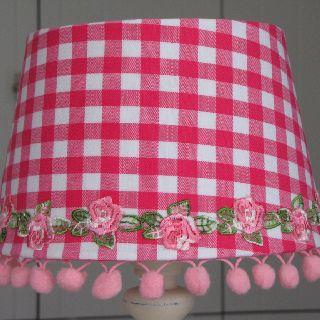 Lampshade 20cm handmade