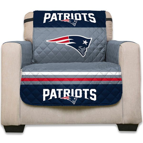 New England Patriots 75 X 65 Water Absorbent Chair Cover 26 99