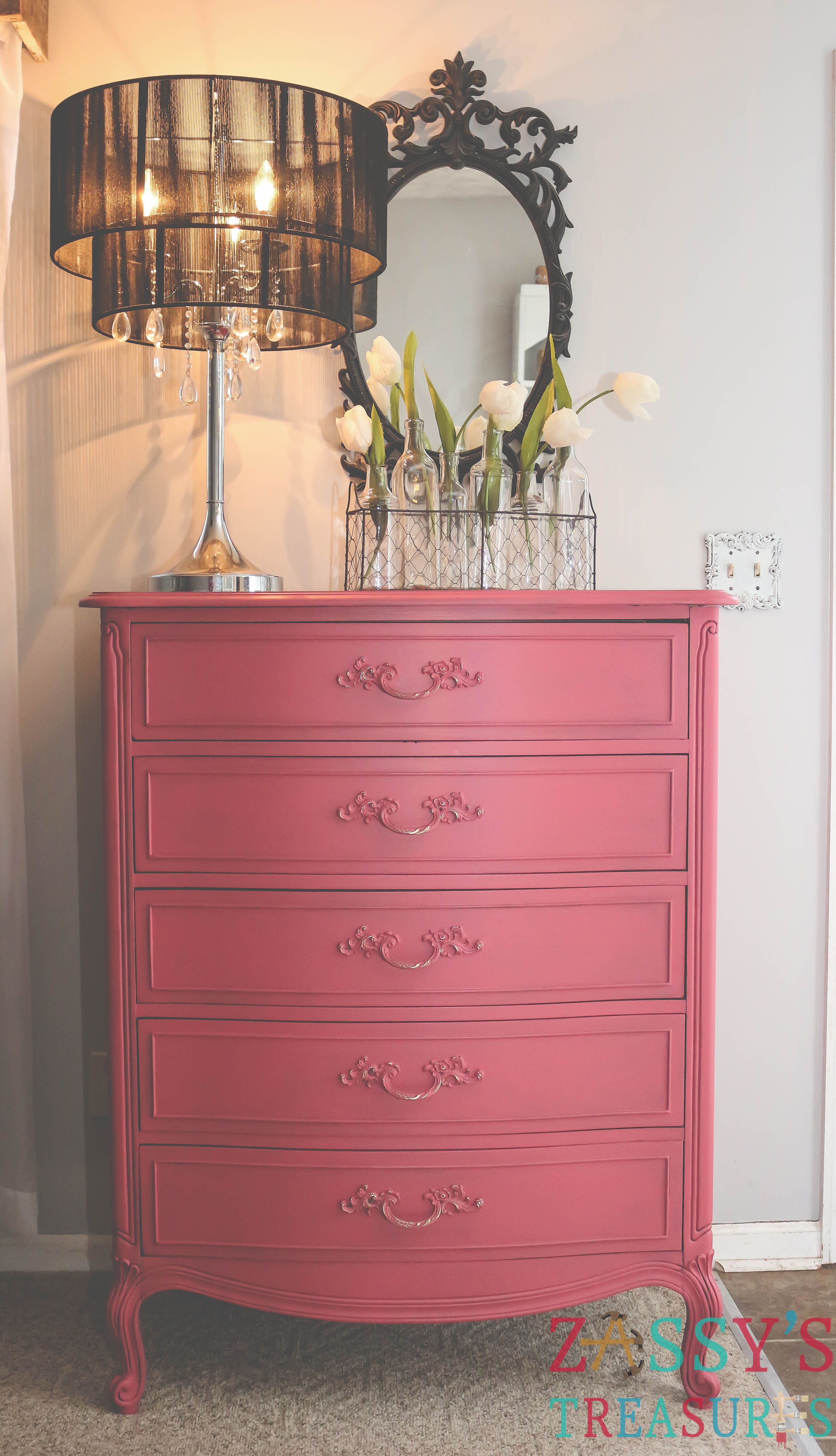 After... Using RePurpose™ Chroma•Color Paint Color Peony Pink ...