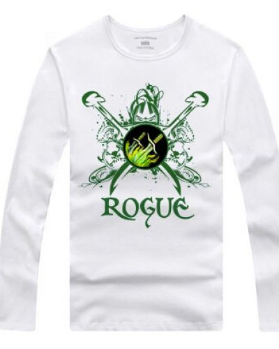 56713fff4 Mens Rogue long sleeve tshirt for spring WOW classes | wow World of ...