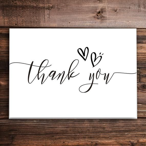 Thank you cards   Wedding thank you cards   Simple thank you card   Minimalist thank you cards   Folded thank you cards   Personalized #businessthankyoucards