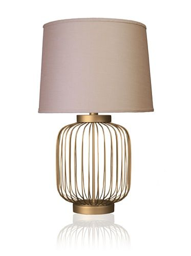 52 Off State Street Lighting Full Size Wire Body Table Lamp Dull Gold Metal Table Lamps Lamp Gold Table Lamp