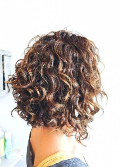 Trendy Hairstyles For Round Faces Curly Over 50 19 Ideas Short Curly Haircuts Curly Hair Styles Medium Hair Styles