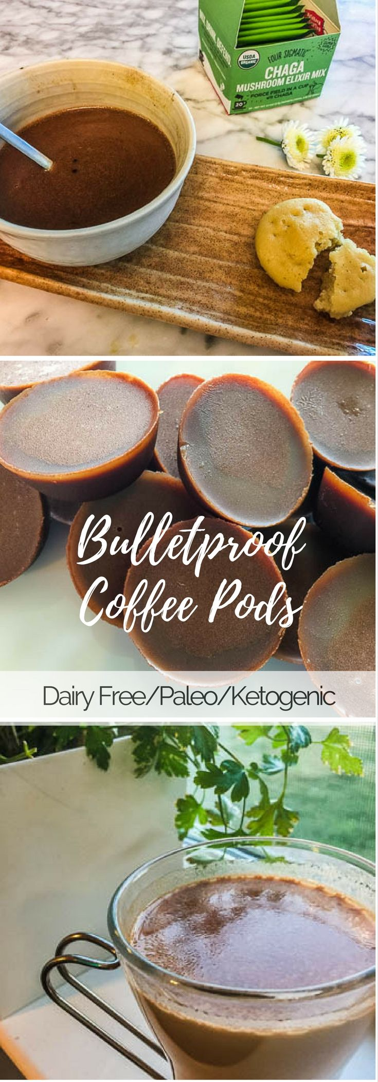 Dairy free, paleo and ketogenic bulletproof coffee pods. Easy way to get in your healthy fats ...