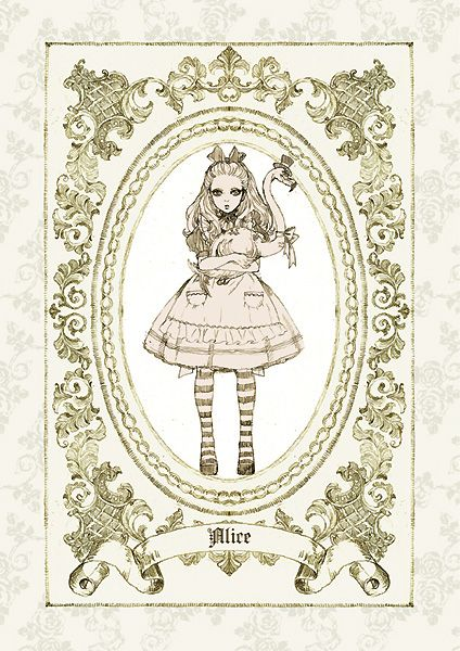 "Wonderland ""Alice"" by manga artist Sakizou."