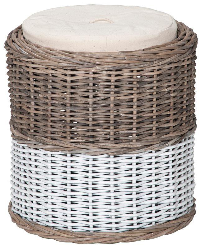 Opbergpoef kobo zowel praktisch als mooi in een landelijk - Romantisch idee ...